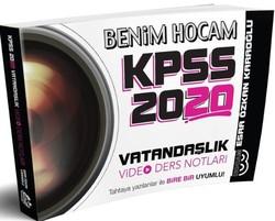 Benim Hocam Yayınları - 2020 KPSS Vatandaşlık Video Ders Notları Benim Hocam Yayınları