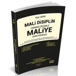 Savaş Yayınevi - 2020 Mali Disiplin Maliye Soru Bankası Çözümlü Alper Demir 4. Baskı Savaş Yayınları