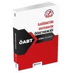 Lider Yayınları - 2020 ÖABT İlköğretim Matematik Öğretmenliği Soru Bankası Çözümlü Lider Yayınları