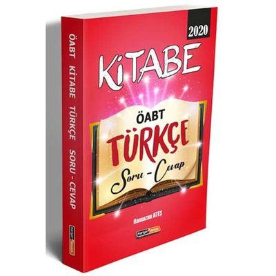 2020 ÖABT Kitabe Türkçe Soru Cevap Kariyer Meslek Yayınları