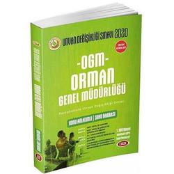 Data Yayınları - 2020 Orman Genel Müdürlüğü GYS Hazırlık Kitabı