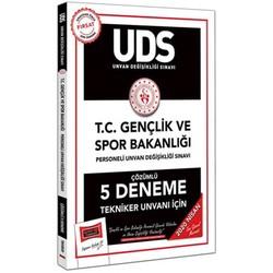 Yargı Yayınları - 2020 UDS T.C. Gençlik ve Spor Bakanlığı Tekniker Unvanı İçin Çözümlü 5 Deneme Yargı Yayınları