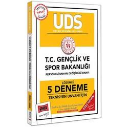 Yargı Yayınları - 2020 UDS T.C. Gençlik ve Spor Bakanlığı Teknisyen Unvanı İçin Çözümlü 5 Deneme Yargı Yayınları