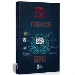 İSEM Yayıncılık - 2021 5. Sınıf Farklı İsem Türkçe Soru Bankası İsem Yayıncılık