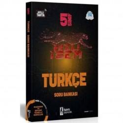 İSEM Yayıncılık - 2021 5. Sınıf Hızlı İsem Türkçe Soru Bankası İsem Yayıncılık