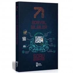 İSEM Yayıncılık - 2021 7. Sınıf Farklı İsem Sosyal Bilgiler Soru Bankası İsem Yayıncılık
