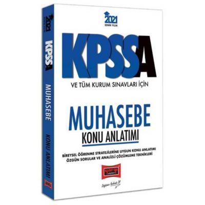 2021 KPSS A Grubu ve Tüm Kurum Sınavları İçin Muhasebe Konu Anlatımı Yargı Yayınları