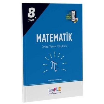 2021 PLE 8. Sınıf Matematik Ünite Tekrar Fasikülü Birey Yayınları