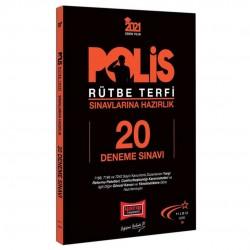 Yargı Yayınları - 2021 Polis Rütbe Terfi Sınavlarına Hazırlık 20 Deneme Sınavı Yargı Yayınları