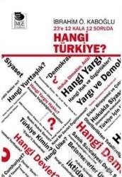 İmge Kitabevi Yayınları - 23'e 12 Kala 12 Soruda Hangi Türkiye?