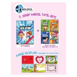 Molekül Yayınları - 2.Sınıf Yarıyıl Tatil Seti Molekül Yayınları