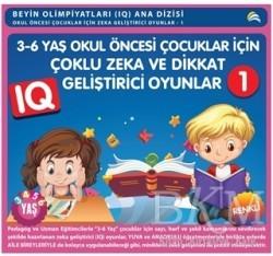 Ekinoks Yayın Grubu - 3-6 Yaş Okul Öncesi Çocuklar İçin Çoklu Zeka ve Dikkat Geliştirici Oyunlar 1