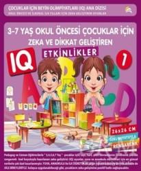 Ekinoks Yayın Grubu - 3-7 Yaş Okul Öncesi Çocuklar İçin Zeka ve Dikkat Geliştiren Etkinlikler 1