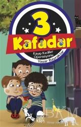 Mavi Kirpi Yayınları - 3 Kafadar - Kayıp Kediler Operasyonu