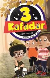 Mavi Kirpi Yayınları - 3 Kafadar- Saklı Hazine
