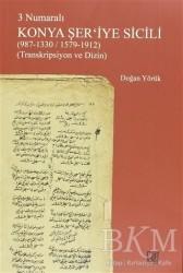 Palet Yayınları - 3 Numaralı Konya Şer'iye Sicili