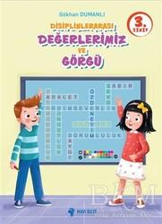 Mavi Bilye Yayınları - 3. Sınıf Disiplinlerarası Değerlerimiz ve Görgü