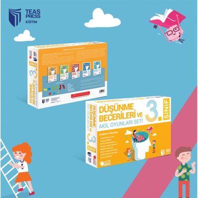3. Sınıf Düşünme Becerileri ve Akıl Oyunları Seti Teas Press Yayınları