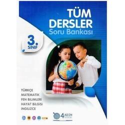 4 Adım Yayınları - 3. Sınıf Tüm Dersler Soru Bankası