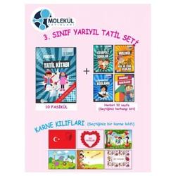 Molekül Yayınları - 3. Sınıf Yarıyıl Tatil Seti Molekül Yayınları