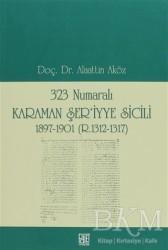 Palet Yayınları - 323 Numaralı Karaman Şer'iyye Sicili