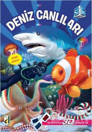 3d Deniz Canlıları Bkm Kitap