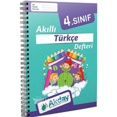 4. Sınıf Akıllı Türkçe Defteri Akday Yayınları
