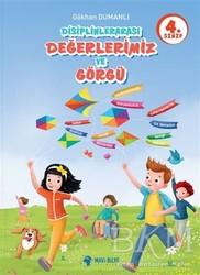 Mavi Bilye Yayınları - 4. Sınıf Disiplinlerarası Değerlerimiz ve Görgü