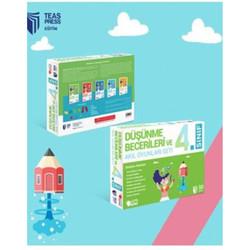 Teas Press - 4. Sınıf Düşünme Becerileri ve Akıl Oyunları Seti Teas Press Yayınları