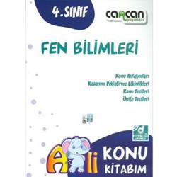 Cancan Yayınları - 4. Sınıf Fen Bilimleri Konu Kitabım
