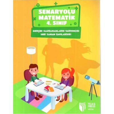 4. Sınıf Senaryolu Matematik Teas Press Yayınları