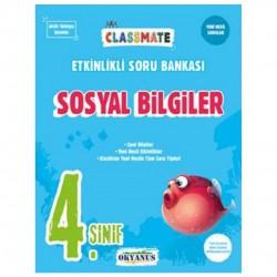 Okyanus Yayınları - 4. Sınıf Sosyal Bilgiler Classmate Etkinlikli Soru Bankası Okyanus Yayınları