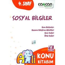 Cancan Yayınları - 4. Sınıf Sosyal Bilgiler Konu Kitabım