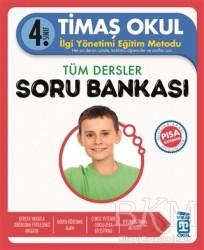Timaş Yayınları - Okul Yardımcı Ders Kitapları - 4. Sınıf Tüm Dersler Soru Bankası