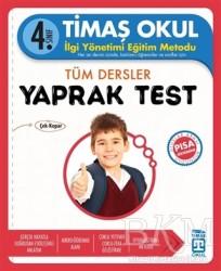Timaş Yayınları - Okul Yardımcı Ders Kitapları - 4. Sınıf Tüm Dersler Yaprak Test