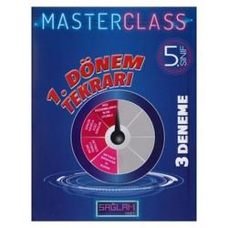Molekül Yayınları - 5. Sınıf 1. Dönem Tekrarı Sağlam Master Class 3 lü Deneme Molekül Yayınları