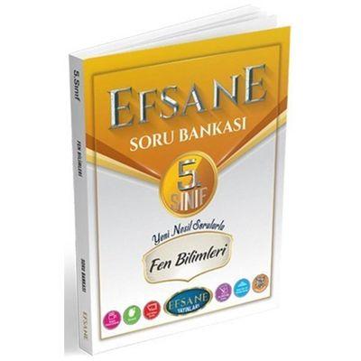 5. Sınıf Fen Bilimleri Soru Bankası Efsane Yayınları