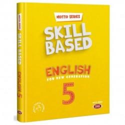 Data Yayınları - 5. Sınıf İngilizce Motto Series Skill Based English Data Yayınları