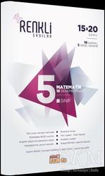 Mana Kitap - 5. Sınıf Matematik 15 Deneme Sınavı - Renkli Sayılar