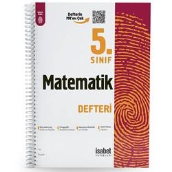 İsabet Yayınları - 5. Sınıf Matematik Ders Defteri İsabet Yayınları