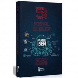 İSEM Yayıncılık - 5. Sınıf Sosyal Bilgiler Farklı İsem Soru Bankası İsem Yayıncılık
