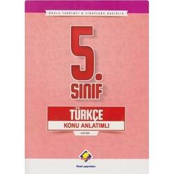 Final Yayınları - 5. Sınıf Türkçe Konu Anlatımlı