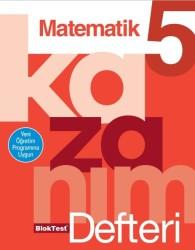 Blok Test Yayınları - 5.Sınıf Matematik Kazanım Defteri Tudem Blok Test Yayınları