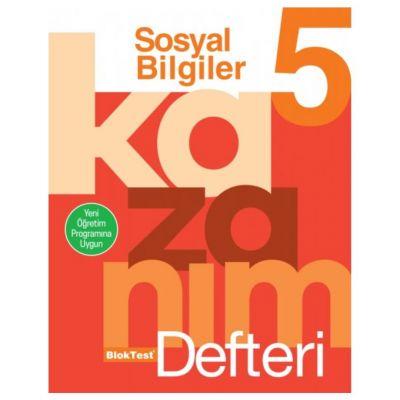 5.Sınıf Sosyal Bilgiler Kazanım Defteri Blok Test Yayınları