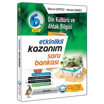 6. Sınıf Din Kültürü ve Ahlak Bilgisi Kazanım Soru Bankası Çanta Yayınları