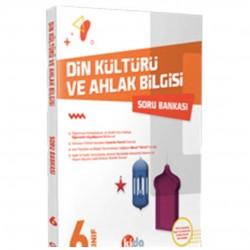 Kida Kitap - 6. Sınıf Din Kültürü ve Ahlak Bilgisi Soru Bankası Kida Yayınları
