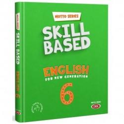 Data Yayınları - 6. Sınıf İngilizce Motto Series Skill Based English Data Yayınları