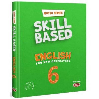 6. Sınıf İngilizce Motto Series Skill Based English Data Yayınları