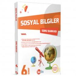 Kida Kitap - 6. Sınıf Sosyal Bilgiler Soru Bankası Kida Yayınları