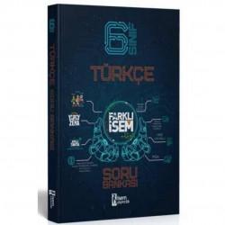 İSEM Yayıncılık - 6. Sınıf Türkçe Farklı İsem Soru Bankası İsem Yayıncılık